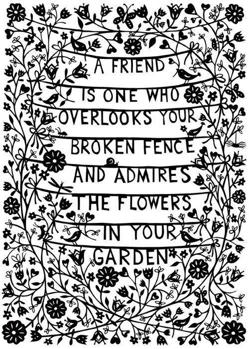 Friendship Quotes On True Friends