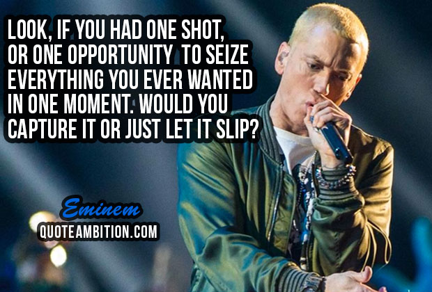 70 Best Eminem Quotes On Life, Music, Success - Quotes ...