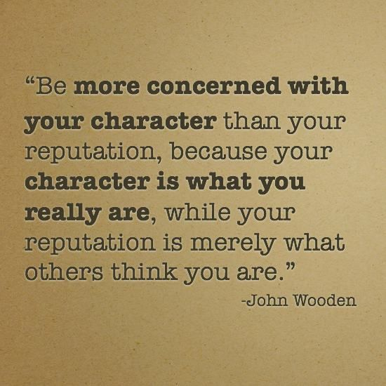 John Wooden Quote on Character