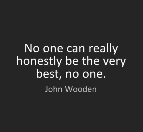 john wooden quote saying