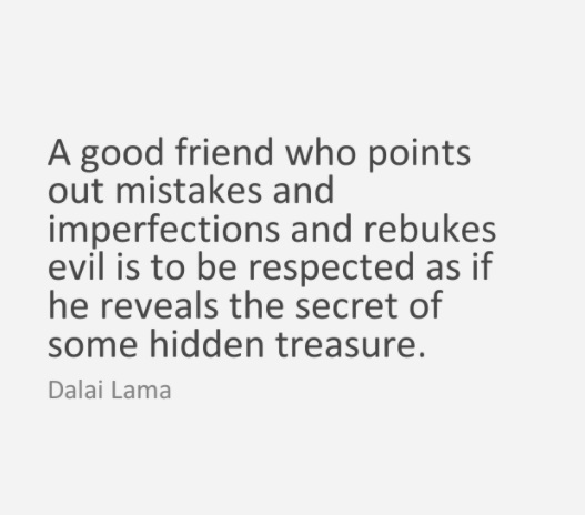 dalai lama quote about friends