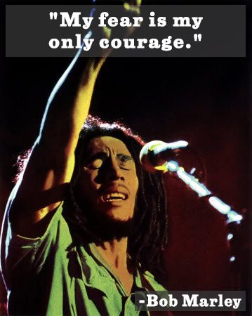 bob marley quote on fear